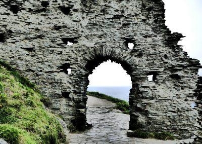 Tintagel Castle Torbogen
