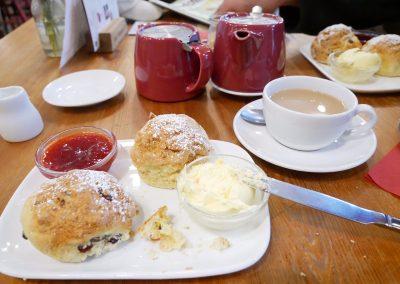 Creamtea und Scones in Dartmoor