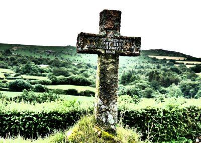 Kreuz im Dartmoor