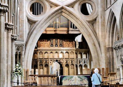 Kathedrale von Wells, Bögen