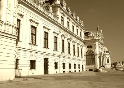 Wien, Belvedere Front