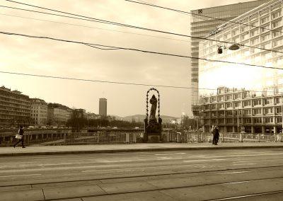 Wien, Donaubrücke